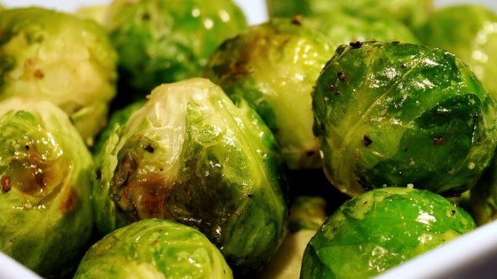 ROASED BRUSSELS SPROUTS