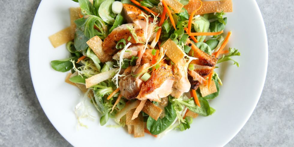 Sesame Ginger Salmon Salad